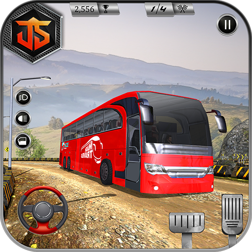 Offroad Bus Driving Simulator 2018: Bus Games Free