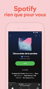 Spotify Music Capture d'écran