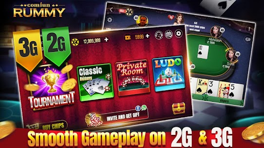 Indian Online Rummy Comfun-13 Card Rummy Game Online App Download For Android 5