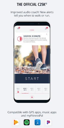 C25K® - 5K Running Trainer screenshot