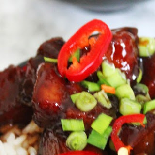 Sweet and Spicy Belly Pork (Hong Shao Rou)