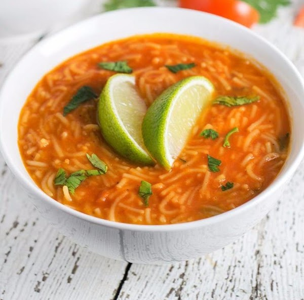 Sopa De Fideo - Mexican Noodle Soup Recipe