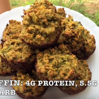 Savory Ketogenic Vegetable Muffin