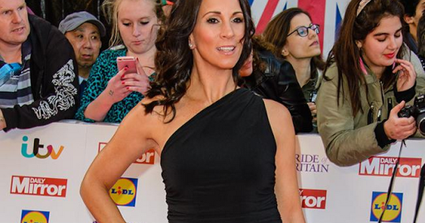 Andrea McLean treats herself to a sports car