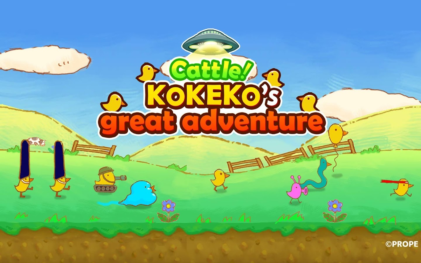 Cattle!Kokeko's GreatAdventure- screenshot