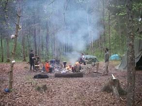 Photo: Das Feuer brennt