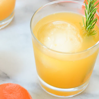 Tangerine Cocktail.