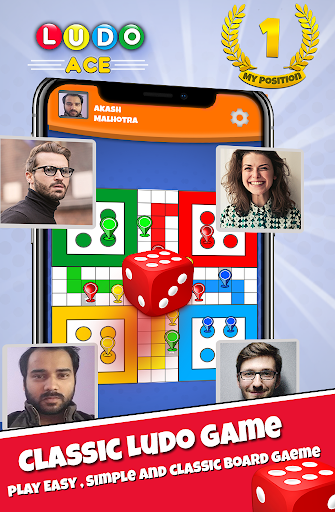 Ludo Ace  2019 : Classic All Star Board Game King apkdebit screenshots 1