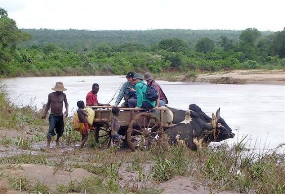 Madagascar - Attraversamento del guado