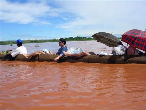 Madagascar - Gli eroi in canoa il secondo giorno di viaggio