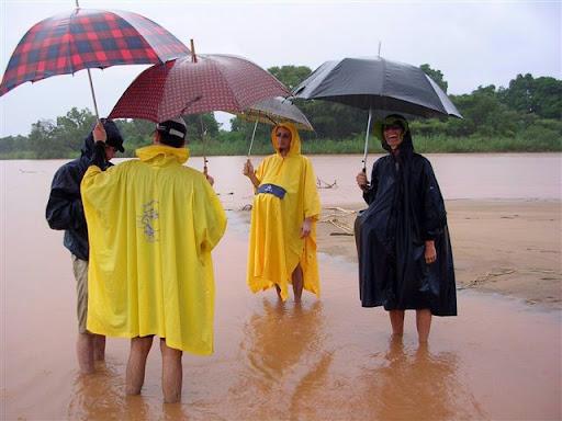 Madagascar - Sosta per la pioggia