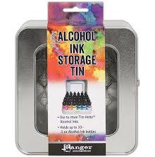 Tim Holtz Alcohol Ink Storage Tin - Empty