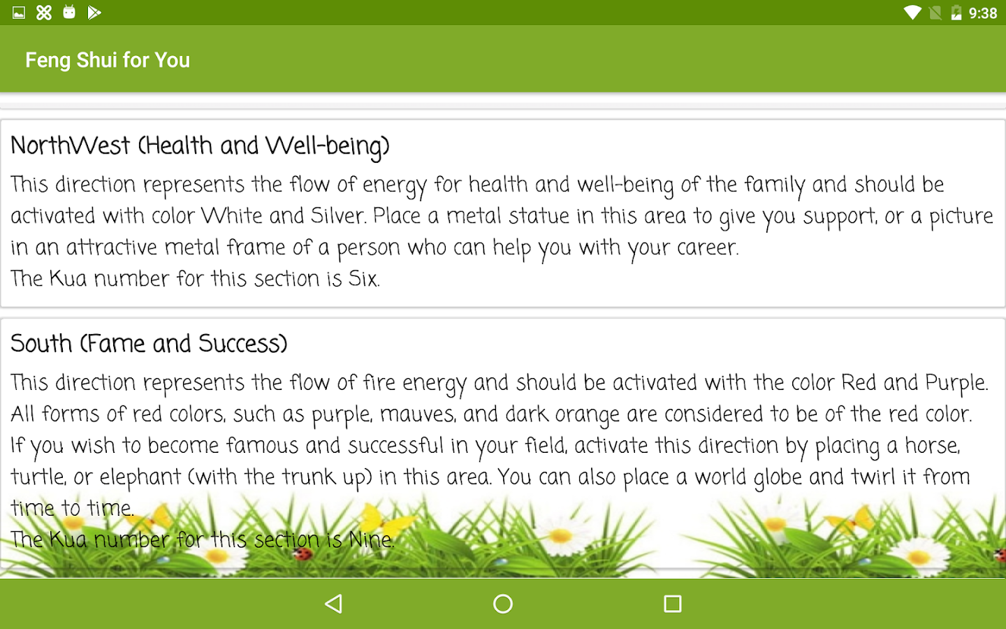 feng shui for you android apps on google play feng shui for you screenshot