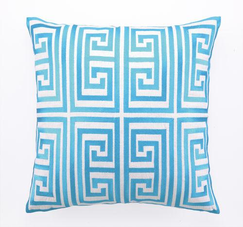 Photo: Greek Key Patterned Pillows from Trina Turk -http://www.caronsbeachhouse.com/servlet/the-1374/Trina-Turk-Pillows%2C-modern/Detail