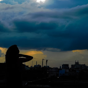 Dreaming  by Swati Mukherjee - Landscapes Sunsets & Sunrises