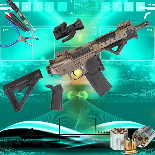 Weapon Gun Maker Factory: Arms Builder Fun Game