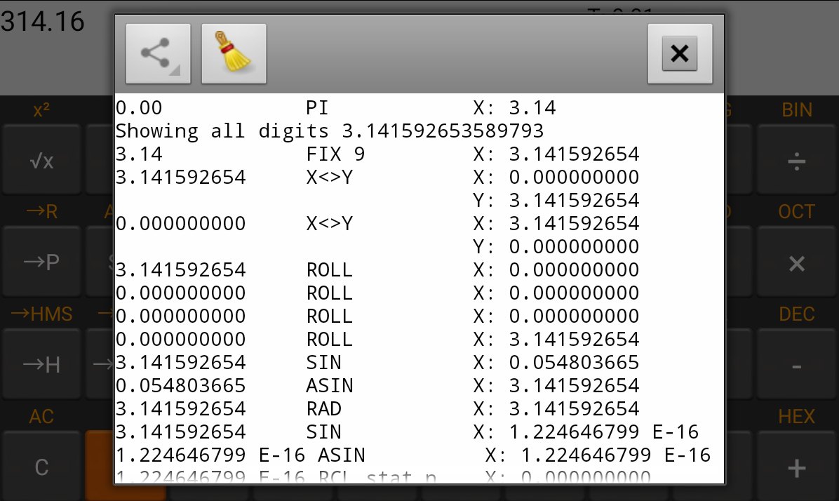 Rpn Calc Financial -- HP 12C - screenshot