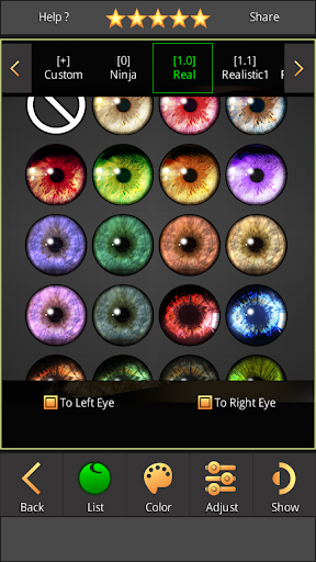 FoxEyes - Change Eye Color by Real Anime Style screenshot 6
