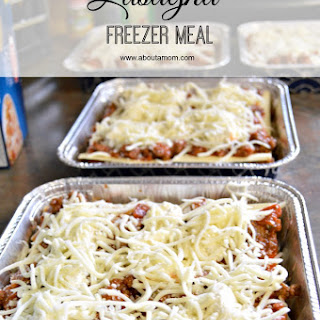 Easy Lasagna Freezer Meal