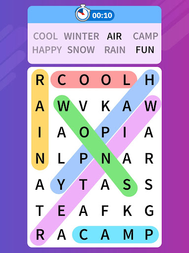 Word Search Blast - Word Search Games 1.2.2 screenshots 17