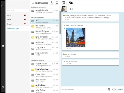 BlackBerry Blend Screenshot