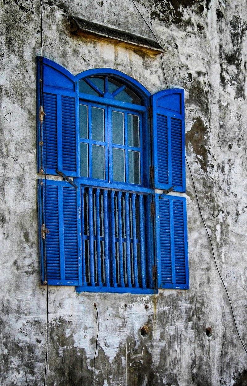 Finestra ad Essaouira. di sangiopanza