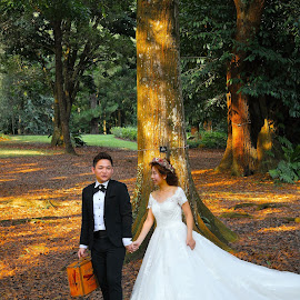 Couple by Koh Chip Whye - Wedding Bride & Groom