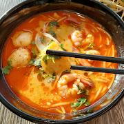 Bun Thai (Tom Yum Soup)