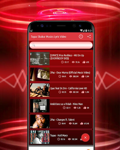 2Pac All Songs Lyrics Video - Apps on Google Play