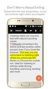 TTSReader Pro Apk – Text To Speech 3