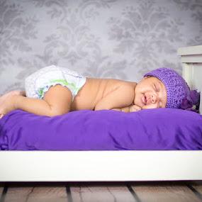 Newborn Portrait by Tristi Ogden - Babies & Children Babies