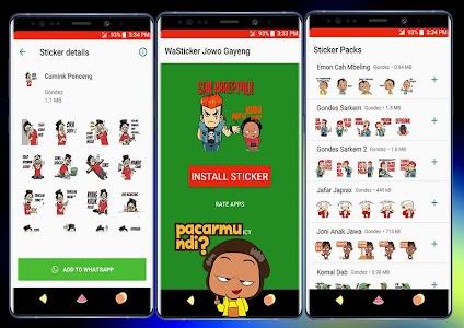 Wa Sticker Jowo Gayeng For Whatsapp 75 Adfree Apk For