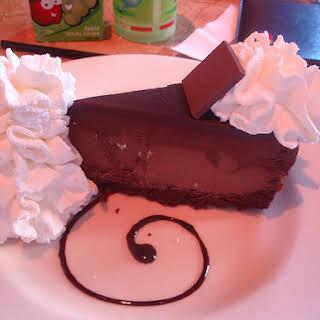Cheesecake Factory Godiva Chocolate Cheesecake.
