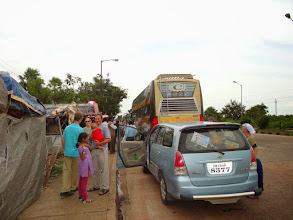 Photo: We traveled approx..7-8 hours from Bhubaneswar to Phulbani where the wedding was located. Some of us traveled by the van while other wedding guest traveled in the bus.
