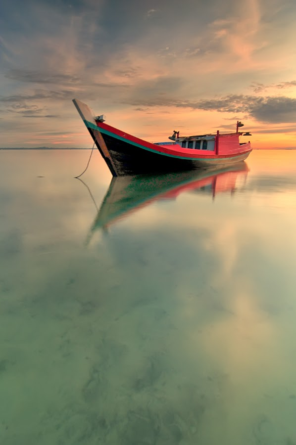 just boat and only boat by Rawi Wie - Transportation Boats