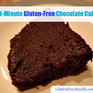 Original 3-Minute Gluten-Free Chocolate Cake