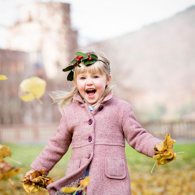 Herbst Fotoshooting.