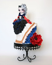 Photo: Gothic Princess by CourtHouse Cake Company, LLC  (3/6/2012) View cake details here: http://cakesdecor.com/cakes/8773