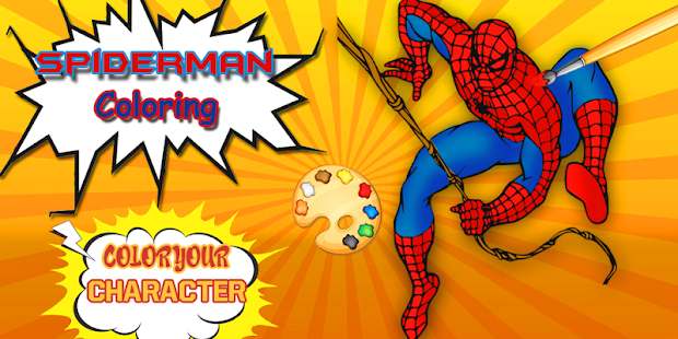 Spider-Man Coloring pages : Spider Games - Android Apps on Google Play
