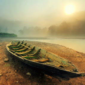 Pagi di Situ Gunung by Andrew Supit - Landscapes Waterscapes