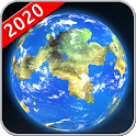 Earth Map Live GPS Satellite & Driving Navigation icon