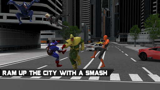 Green monster Infinity battle vs Superheroes