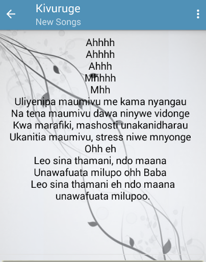Nandy Nyimbo Mpya for PC