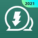 Status saver - Downloader for Whatsapp status icon