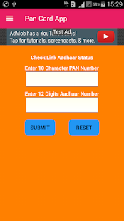 Pan Card Status - NDSL,UTI,Tax Refund,ITRV Status screenshot