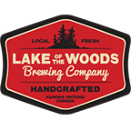 Logo for Lake of the Woods Brewery Co.