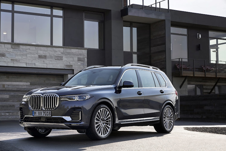 The largest BMW thus far, the seven-seater X7, will soon make its way here. Picture: SUPPLIED