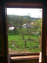 Photo: Widok z okna w kuchni