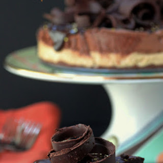 Cookie Butter and Chocolate Mousse Cake