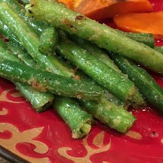 Sauteed Garden Fresh Green Beans.